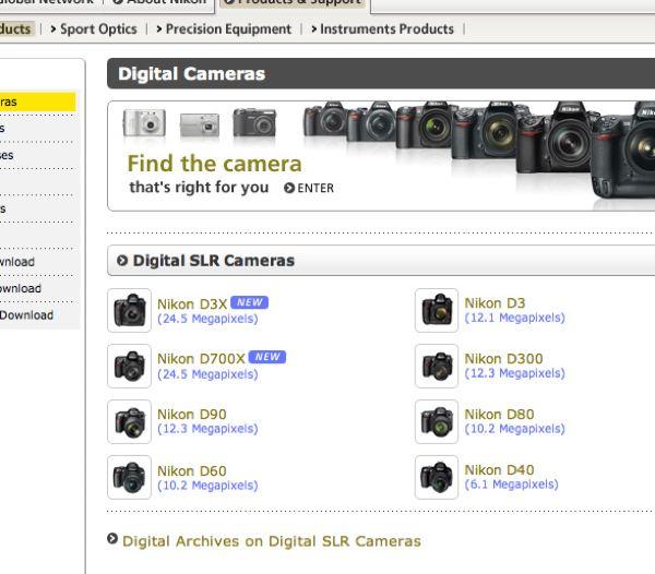 Nikon 700x