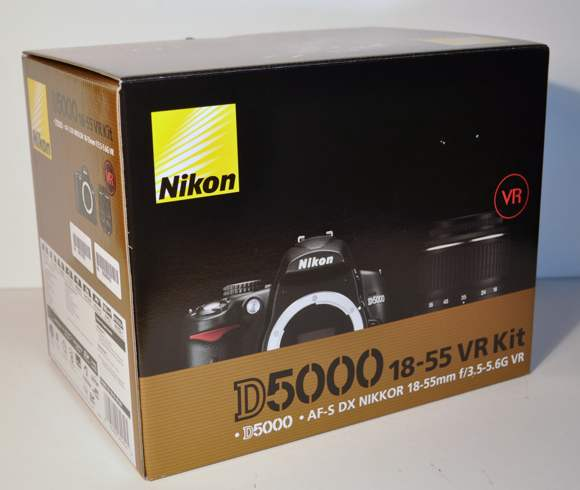 nikond5000box