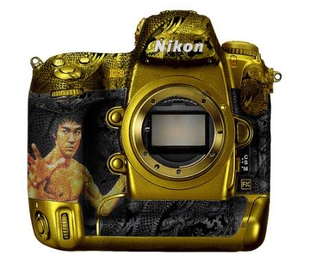 Nikon D3 Bruce Lee paint