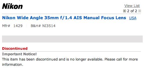 nikon_35mm_f14_discontinued