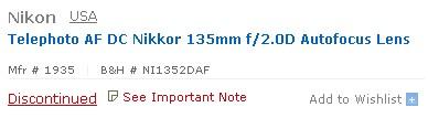nikon-135mm-f2-discontinued