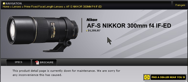 nikonca-site-maintenance