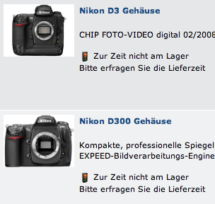 nikon-d3-out-of-stock