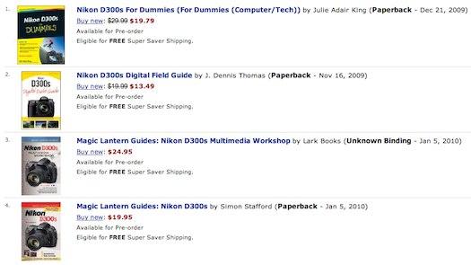 nikon-d300s-books