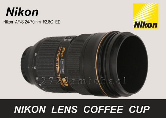 You know this one was coming nikon lens coffee mug Nikon camera lens coffee mug