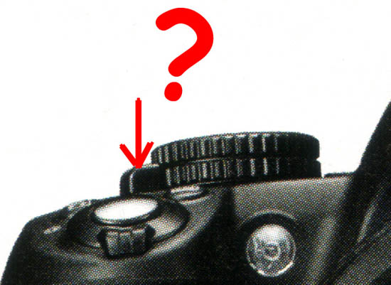 New button/lever on the Nikon D3100 - Nikon Rumors