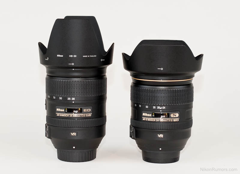 Nikon 24 120mm F 4g Ed Vr Vs Nikon 28 300mm F 3 5 5 6 Ed