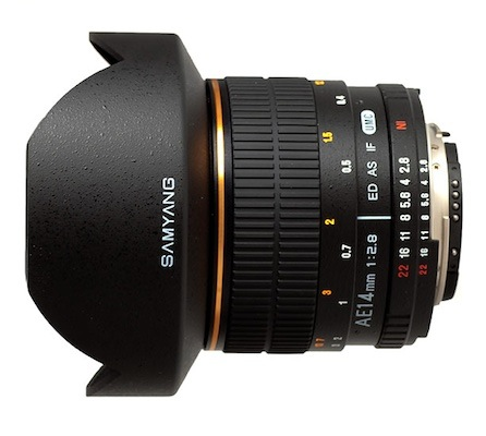 Samyang ae 14 mm f 2 8 ed as if umc aspherical lens now for Samyang 14mm nikon