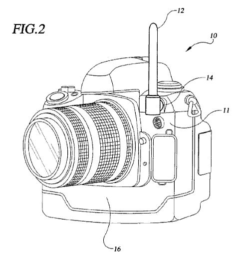 pocketwizard patents a new type of embedded radio flash