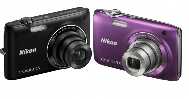 Nikon Coolpix S3100 and S4100
