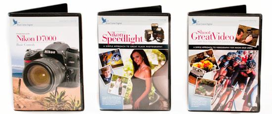 Nikon Rumors Blue Crane Digital DVD giveaway