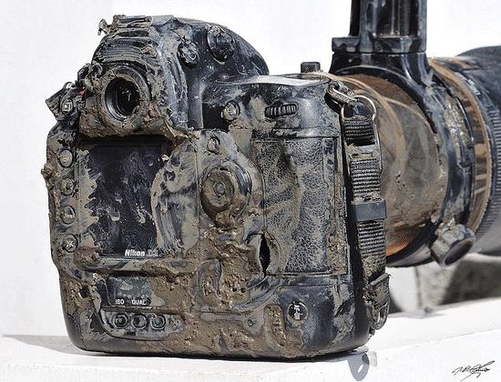 nikon d3 mud yes, this nikon d3 is still working
