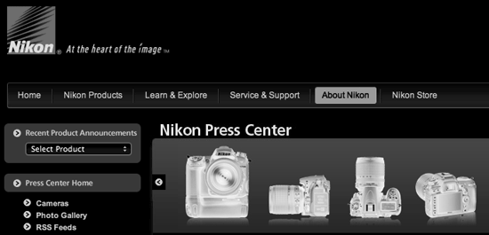 nikon-press-center