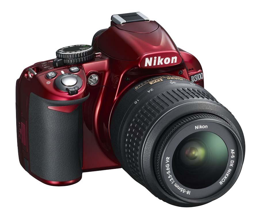 More on the red Nikon D3100 camera - Nikon Rumors