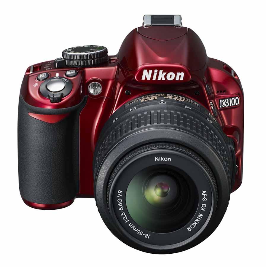 Camera Nikon Dslr Camera D3100 more on the red nikon d3100 camera rumors r