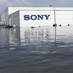 sony-plant-under-water-thailand