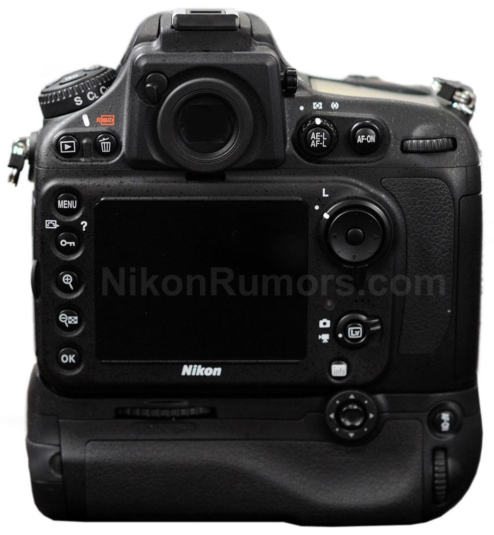 Nikon D800 Fronte