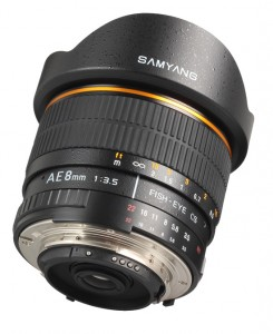 Samyang AE 8mm Nikon images 4 245x300 New Samyang 8mm f/3.5 fisheye lens for Nikon mount