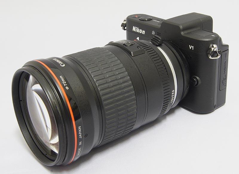 Nikon-1-adapter-Nikon-lens