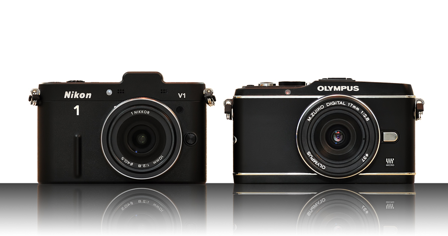 Nikon 1 V1 vs. Olympus PEN EP-3