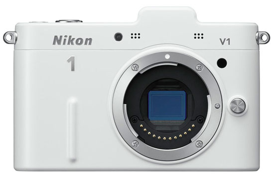 Nikon V1 is now available in white | Nikon Rumors