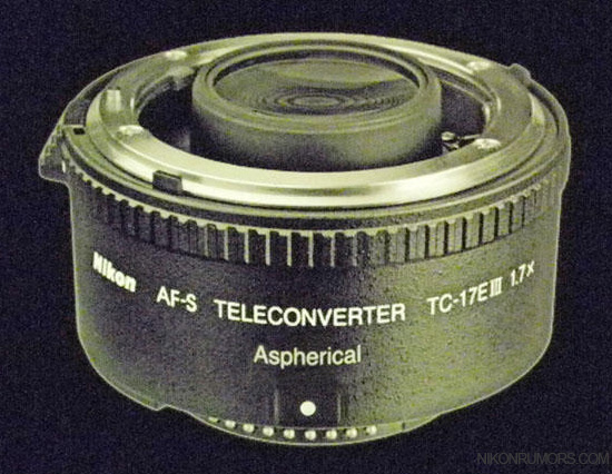 Nikon AF-S Teleconverter TC-17E III