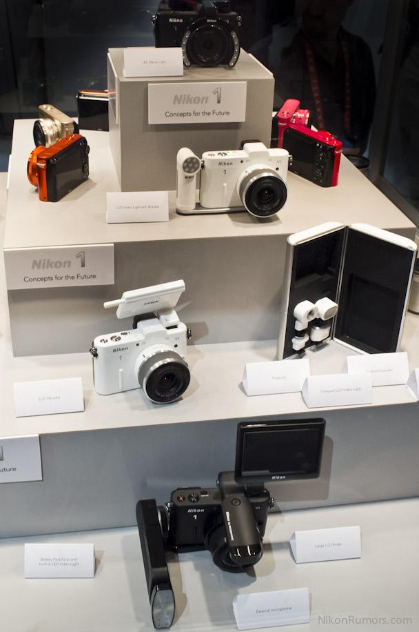 Nikon 1 concept accessories