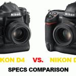 Nikon-D4-vs-D3s-specs-comparison