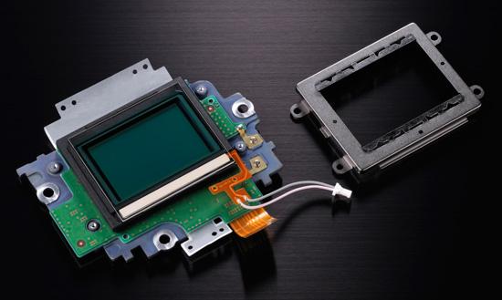 Nikon D800 sensor unit