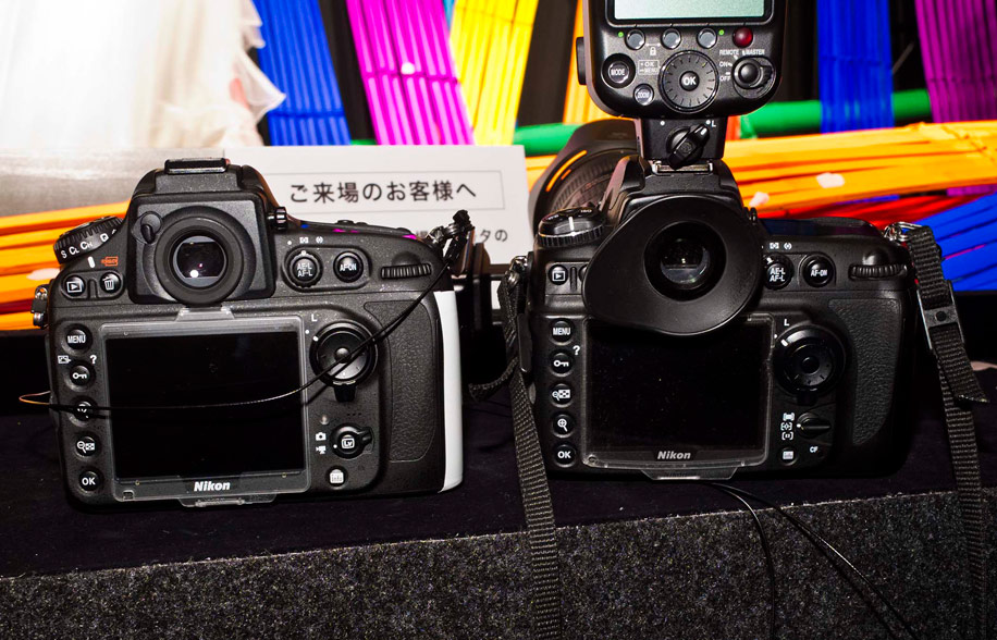 Nikon D800 and D700 Nikon at the 2012 CP+ show (pictures, D800 hands on, D4 demo videos)