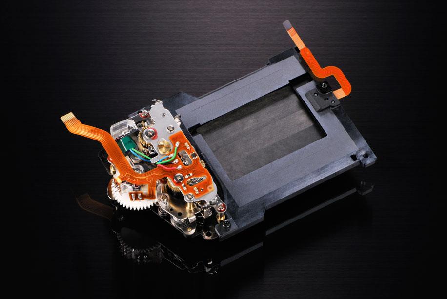 Nikon D800 shutter unit