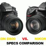 Nikon-D800-vs-D700-specs-comparison