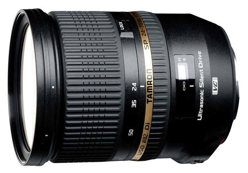 Tamron SP 24-70mm f/2.8 Di VC USD full frame lens with image ...