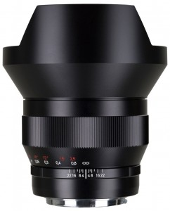 The Zeiss Distagon T* 15mm f/2.8 ZF.2 lens for Nikon F mount is now $