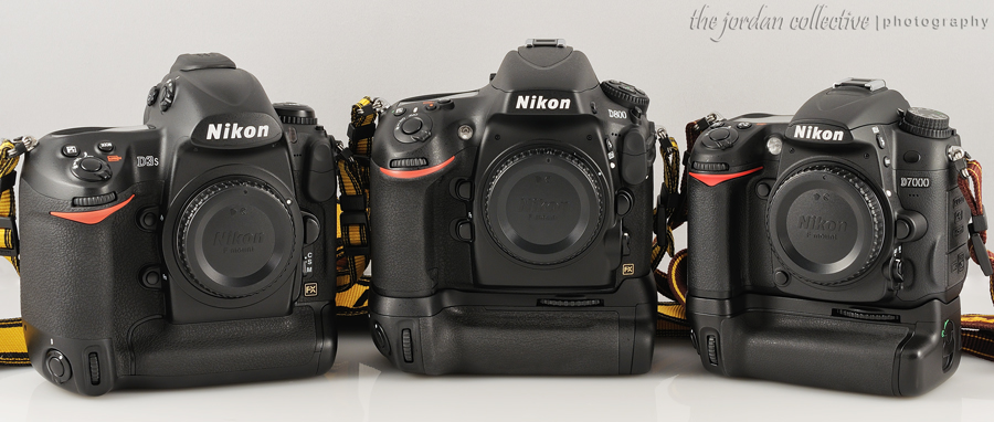 D800 D3s D7k MainImageSmall2 Nikon D800 vs. D3s and D7000 comparison by Cary Jordan
