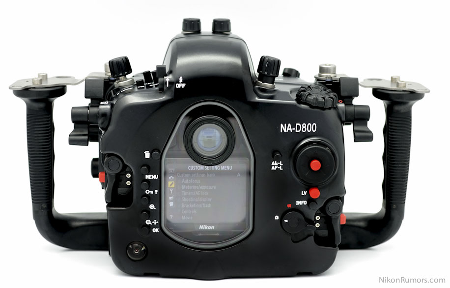 Nauticam na d800 underwater housing nikon d800 camera1