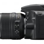 Nikon-D3200-left
