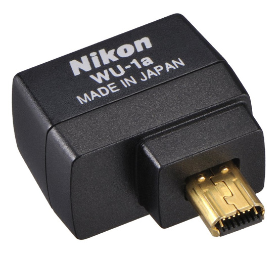 Nikon WU 1a adapter Nikon D600 will be Wi Fi compatible with a new WU 1b wireless mobile adapter