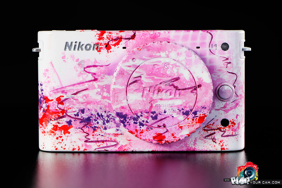 PimpYourCam Nikon 1 pink Pimp your Nikon 1 camera