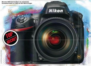 New picture of the Nikon D600 DSLR camera 300x218 Updated specifications for the Nikon D600