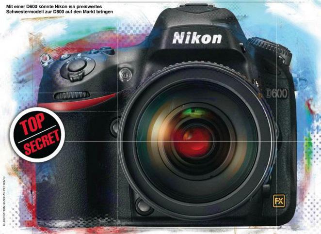 Nikon D800 + Nikon D7000 = Nikon D600