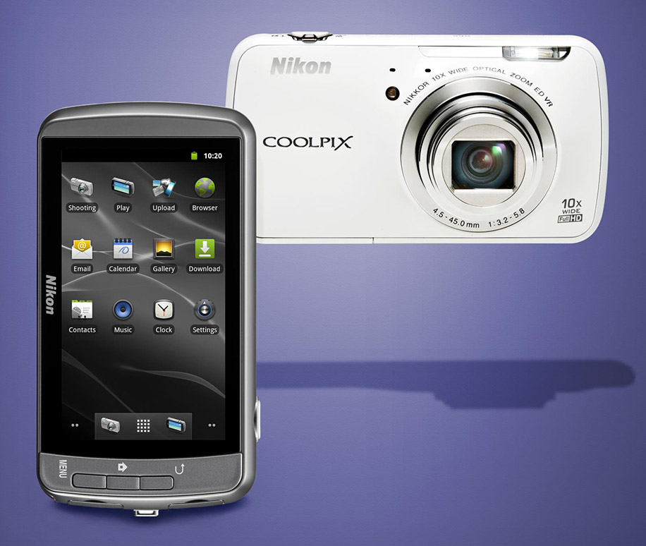 Nikon-Android-Coolpix-S800c-camera