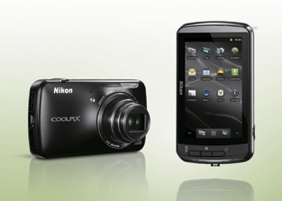 Nikon Android Coolpix camera 1 First pictures of the upcoming Android Nikon Coolpix camera