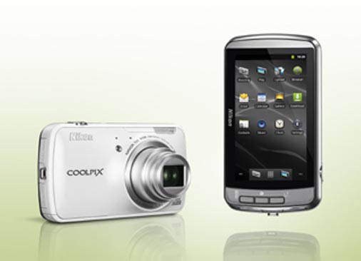 Nikon Coolpix 800c Android camera