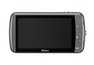 Nikon Coolpix S800c back 300x208 Nikon Coolpix P7700, S800c, S01 and S6400 cameras announced *UPDATED*