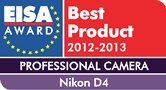 Nikon D4 EISA award
