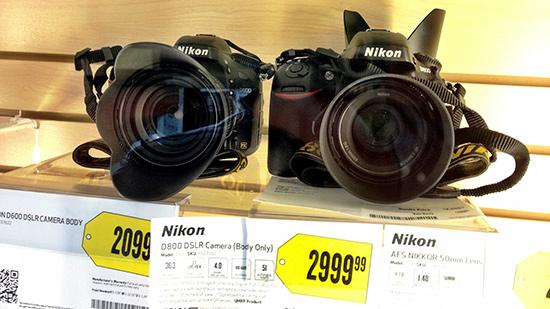 Nikon D600 D800 BestBuy Nikon D600 now shipping