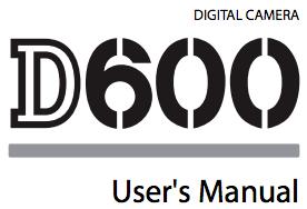 Nikon D600 manual now online - Nikon Rumors