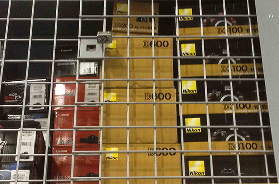 Nikon D600 shelf Nikon D600 now shipping