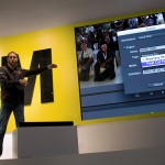 There were several presentations at the Nikon booth. The first was the keynote delivered by Adobe evangelist Jason Levine.
